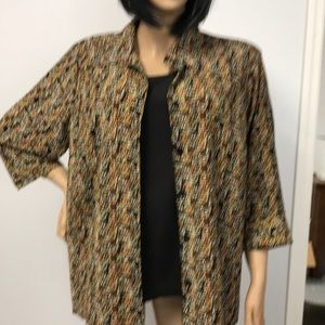 White Stag Button Up Blouse S 2X 18 Waist-20W